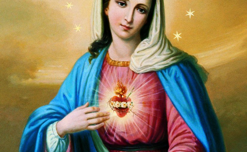 Preghiera di consacrazione delle famiglie ai Cuori SS. di Gesù e Maria